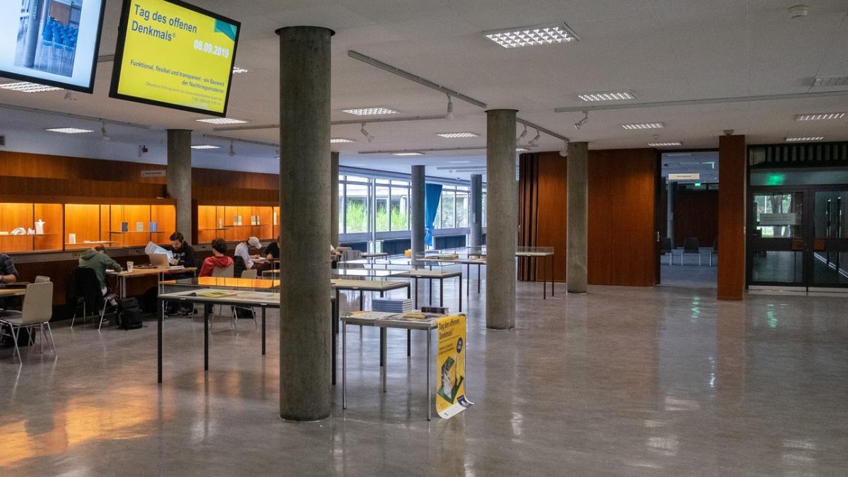 Tag des offenen Denkmals 2019 im Foyer der UB Stastmitte