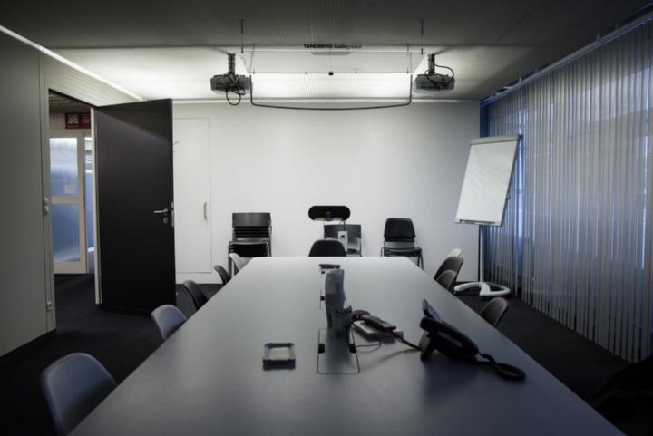 Videokonferenzraum in der Universitätsbibliothek Vaihingen