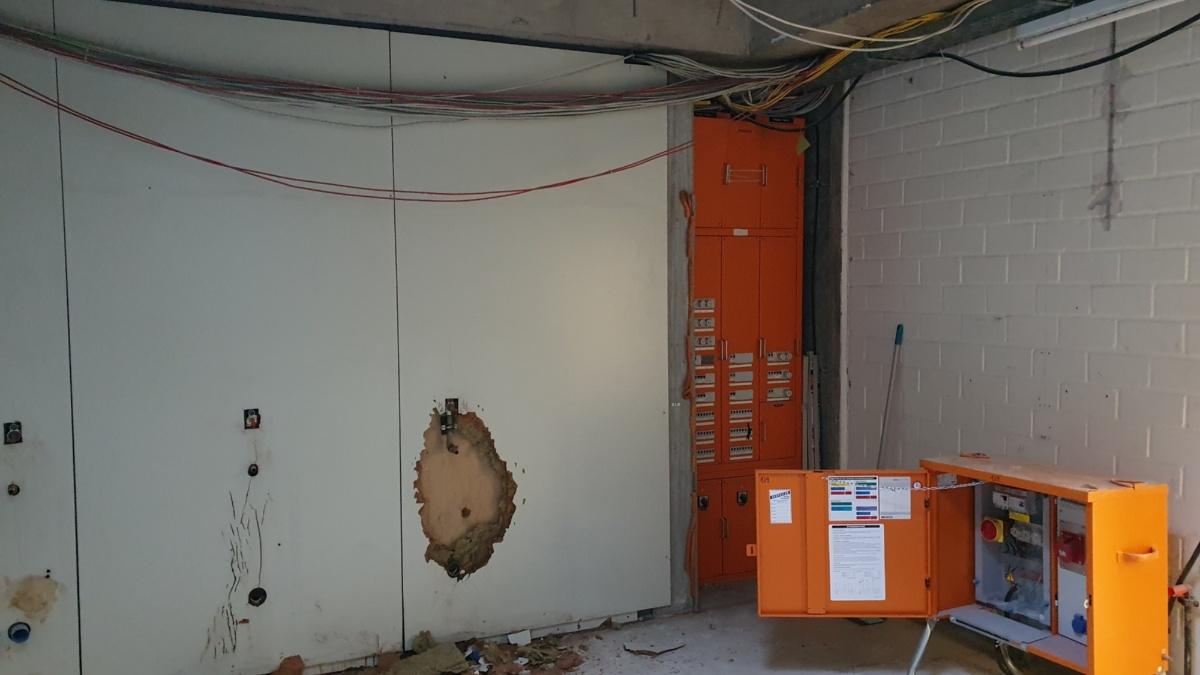 Defekte Asbestrohre in Vaihingen